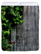 Wild Grape Vine Door Duvet Cover