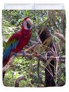Wild Hawaiian Parrot  Duvet Cover