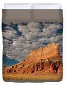 Wild Horse Butte Goblin Valley Utah Duvet Cover