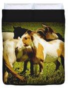 Wild Horses In California Series 14 Duvet Cover