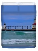 Wild In Saint Joe's Duvet Cover by John Absher