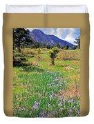 Wild Irises Duvet Cover