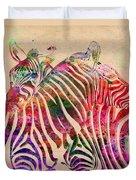 Wild Life 3 Duvet Cover by Mark Ashkenazi