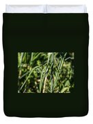 Wild Onion Grasp Duvet Cover
