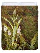 Wild Orchids Duvet Cover
