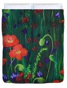 Wild Poppies Duvet Cover