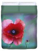 Wild Poppy Duvet Cover