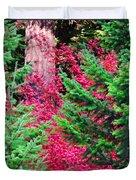 Wild Red Maple Duvet Cover