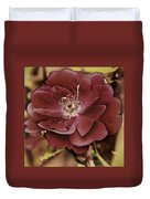 Wild Rose Iv Duvet Cover