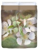Wild Roses - Digital Paint Duvet Cover