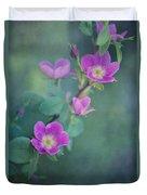 Wild Roses Duvet Cover by Priska Wettstein