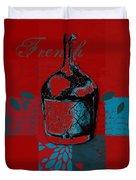 Wild Still Life - 0102b - Red Duvet Cover