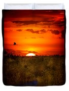 Wild Sunset Duvet Cover