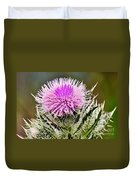 Wild Thistle  Duvet Cover