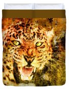 Wild Threat Duvet Cover