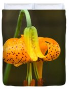 Wild Tiger Lily Duvet Cover
