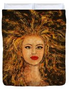 Wild Tigress Duvet Cover