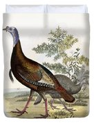Wild Turkey Duvet Cover by Titian Ramsey Peale