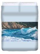 Wild Waves Duvet Cover
