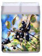 Wildberry Plant Duvet Cover