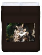 Wilderness Owl Duvet Cover
