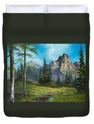 Wilderness Trail Duvet Cover