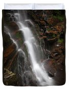Wilderness Waterfall Dawn Duvet Cover