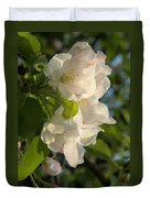 Wildf Apple Blossoms Duvet Cover