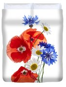 Wildflower Arrangement Duvet Cover