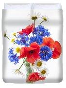 Wildflower Bouquet Duvet Cover