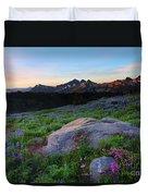 Wildflower Dawning Duvet Cover