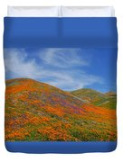 Wildflower Extravaganza  Duvet Cover