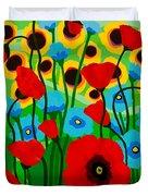 Wildflower Fiesta Duvet Cover