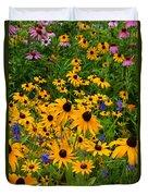 Wildflower Gold Duvet Cover