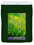 Wildflower Impression By Jrr Duvet Cover by First Star Art