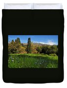 Wildflower Meadow At Descanso Gardens Duvet Cover by Lynn Bauer