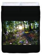 Wildflower Sunset Duvet Cover