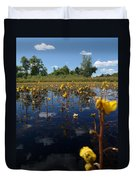 Wildflower Waterscape Duvet Cover