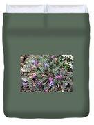 Wildflowers - Woolly-pod Locoweed Duvet Cover
