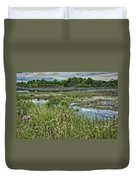 Wildlife Refuge Reflections Duvet Cover