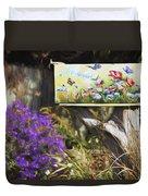 Wildlife's Mailbox Duvet Cover