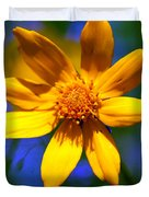 Wildly Yellow Duvet Cover