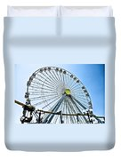 Wildwood Ferris Wheel Duvet Cover