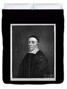 William Harvey (1578-1657) Duvet Cover