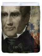 William Henry Harrison Duvet Cover by Corporate Art Task Force