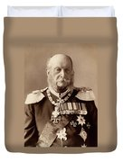 William I Of Prussia (1797-1888) Duvet Cover