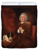 William Lowndes - A Auditor Of His Majesty's Court Of Exchequer  Duvet Cover
