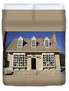 William Pitt Shop Williamsburg Virginia Duvet Cover