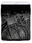 Williamsburg Bikes Duvet Cover