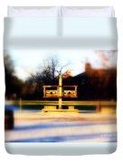 Williamsburg Stocks Duvet Cover